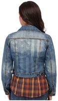 Roper Vintage Patriotic Jean Jacket Women's Jacket