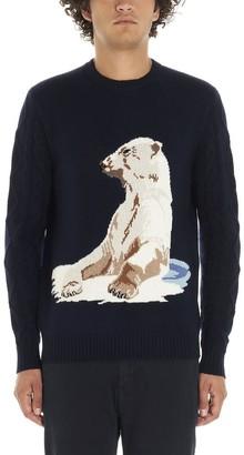Ballantyne Knitted Polar Bear Sweater