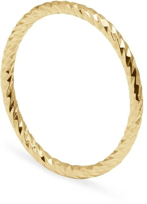 Myia Bonner Gold Faceted Ring