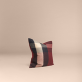Burberry Check Cashmere Cushion Cover