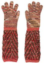Missoni Patterned Knit Gloves