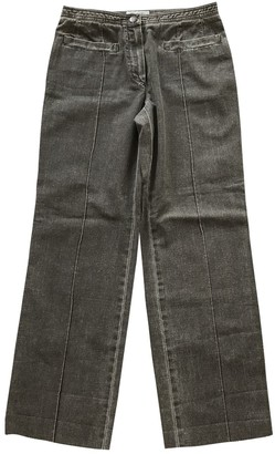 Chanel Grey Denim - Jeans Trousers