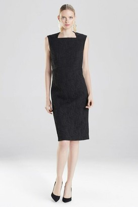 Natori Textured Solid Dress