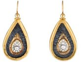 Gurhan Mixed Metal Diamond Earrings