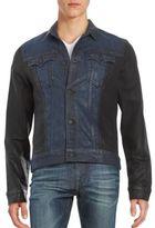 True Religion Button-Front Moto Jacket