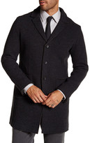 Mason Mason&s Notch Lapel Raw Edge Jacket