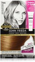 John Frieda Precision Foam Colour, Dark Caramel Blonde, 7NBG, 1 Application