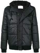 Pierre Balmain hooded puffer jacket