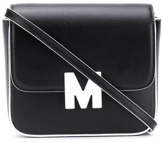 MSGM Logo-Plaque Crossbody Bag