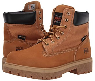 Timberland Direct Attach 6 Steel Safety Toe (Wheat) Men's Shoes