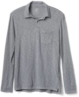 Gap Slub long sleeve polo