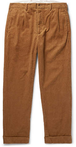 Engineered Garments Andover Cotton-Corduroy Trousers