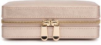Wolf Palermo Rose Gold Jewellery Case