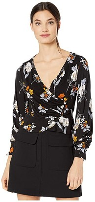 Free People Saturday Night Top (Black) Women's Clothing