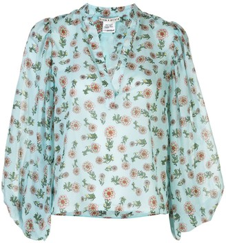 Alice + Olivia Patterned Blouse