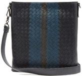 Bottega Veneta Intrecciato Leather Messenger Bag