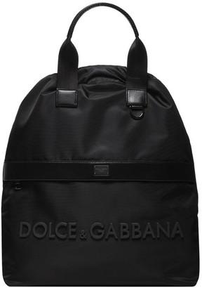 Dolce & Gabbana Logo Strap Backpack