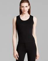 Armani Collezioni Tank - Sleeveless Scoop Neck