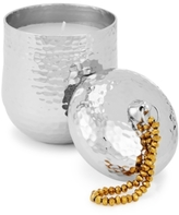 Twos Company Two's Company Two's Company Casbah Hammered Beaded Handle Candle