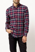 Naked & Famous Denim Regular Tartan Check Shirt