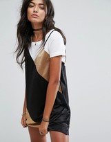 Pull&Bear Color Block Cami Dress