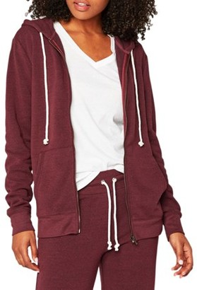 Threads 4 Thought Women's Athleisure Triblend Zip Hoodie