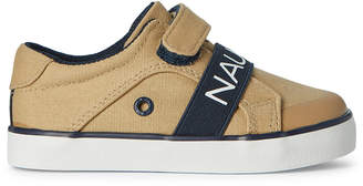 Nautica Toddler Boys) Tan Outhaul Canvas Low-Top Sneakers