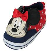 Disney Minnie Mouse Polka Dot Girl's Baby Sneakers - Size [3013]