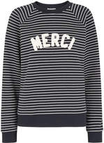 Whistles Stripe Merci Sweatshirt