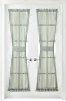 Royal Velvet Crushed Voile Sheer Rod-Pocket Door Panel