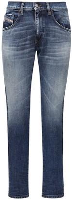 Diesel D-Strukt Cotton Denim Jeans