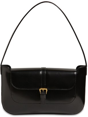 BY FAR Miranda Semi Patent Leather Bag