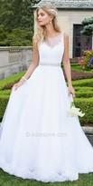 Camille La Vie Lace Tulle Wedding Dress
