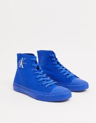 Calvin Klein Jeans Icaro canvas high top sneakers