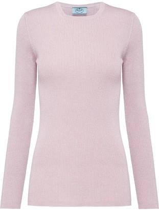 Prada Lame Sweater