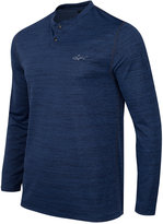 Greg Norman for Tasso Elba Men's Big & Tall Space-Dyed Performance Henley, Only at Macy's