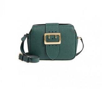Burberry Green Leather Handbags