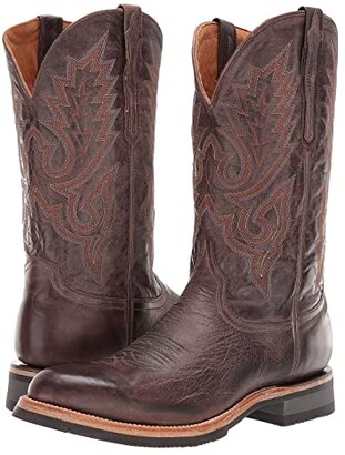 Lucchese Rusty (Dark Brown) Cowboy Boots