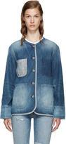 Rag & Bone Blue Denim Santa Cruz Jacket