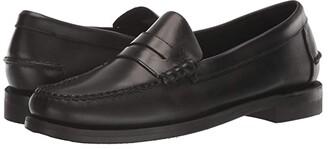 Sebago Classic Dan Waxy (Black) Men's Shoes
