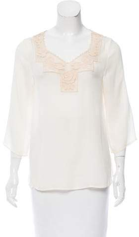 The Great Silk Embroidered Blouse