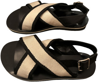 Marni Beige Synthetic Sandals