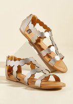 ModCloth Less Is Morse Sandal in 7