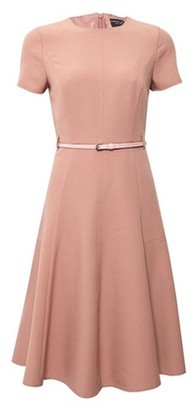 Dorothy Perkins Womens Pink Fit And Flare Dress, Pink