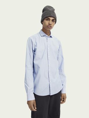 Scotch & Soda Cotton-blend long sleeve shirt | Men