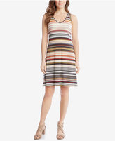 Karen Kane Striped A-Line Dress