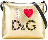 Dolce & Gabbana studded shoulder bag
