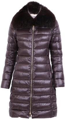 Herno Elisa Fur Trimmed Padded Coat