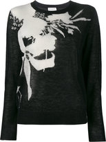 Dries Van Noten Nessa floral intarsia jumper
