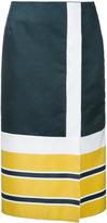 Gwen Salakaia - striped skirt - women - Polyester - 0